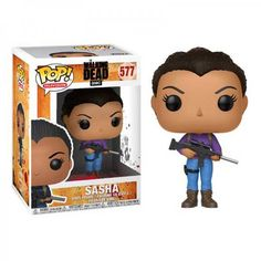 Figura Pop The Walking Dead Sasha. #funkopop #walkingdead #sasha