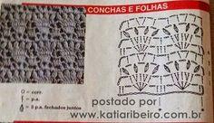 Катя Рибейро Мода и ручной украшения: Обрезанные сверху в вязании крючком с графической