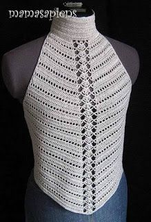 Cool crochet tank top