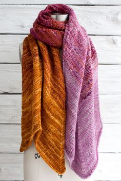 Pradera Wrap By Jocelyn Tunney - Free Knitted Pattern - (ravelry)