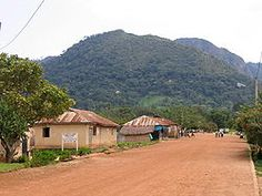 Mount Afadjato is the highest point in Ghana at 2,904 ft (885 m).