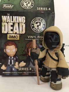 Walking Dead FUNKO Mystery Minis *Series 4 MORGAN with Hood Mask #FUNKO