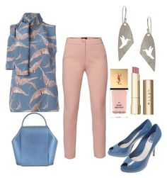 """""""Birds in Flight"""" by jfcheney ❤ liked on Polyvore featuring WtR, Onesixone, Yves Saint Laurent and Stila"""