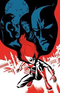 DC Comics Batwoman Issue 5 Variant Cover http://ift.tt/2nHLQ8N... #Arts #Michael_Cho_s_sketchbook #Illustration