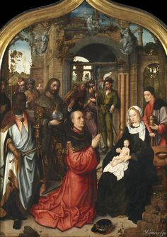 Adriaen Isenbrandt. Triptych, 1510-1512 (detail) by Adriaen Isenbrandt (c.1490-1551) Birmingham Museums and Art Gallery