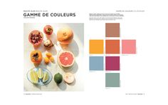Peclers Paris: Cahier de tendance BEAUTY TREND BOOK SPRING SUMMER 2017