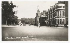 Early postcard, Shooters hill...building on right was the cop shop..now apartments. ..excellent