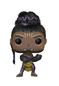 Funko Pop Marvel: Black Panther Shuri Collectible Figure - From Black Panther, Shuri, as a stylized POP vinyl from Funko! Figure stands 3 inches and comes in a window display box. Check out the other Black Panther figures from Funko! Funko Pop Marvel, Ms Marvel, Marvel Comics, Marvel Women, Black Panther Marvel, Shuri Black Panther, Black Panther Character, Black Panthers, Funko Pop Figures