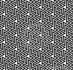 Arabesque Optical Pattern