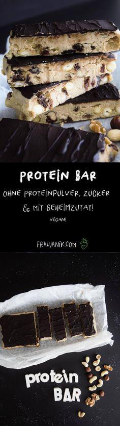 Protein Bar selber machen - Frau Janik