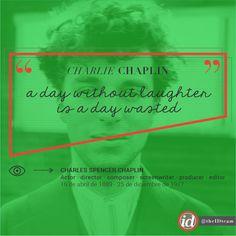 Made with love by @theIDteam #IDcreativestudio | #theIDteam | #theIDwonderteam | #CharlieChaplin | #WeLoveHim | #Quotes