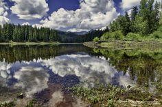 Fish Lake in southern Oregon