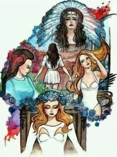 I am in love with this lana del rey art