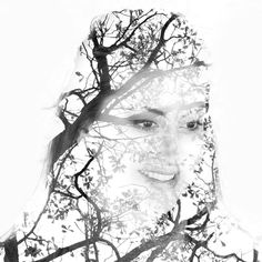 Canon 5d Mark Iv, Double Exposure, Black And White Photography, My Photos, Mixed Media, Collage, Artwork, Instagram, Black White Photography