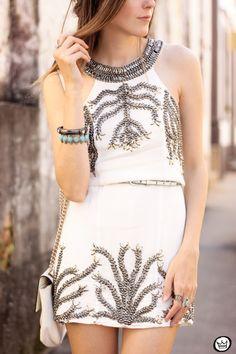 FashionCoolture - 30.07.2015 look du jour Viber white dress (5)