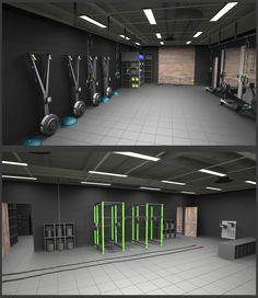 Industrial Gym