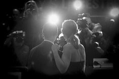 BEAUTIFUL BLACK & WHITE PHOTO OF JAMES MCAVOY AND HIS LOVELY WIFE ANNE-MARIE DUFF AT THE SUFFRAGETTE PREMIERE AT THE BFI LONDON FILM FESTIVAL LECEISTER SQUARE OCTOBER 7, 2015 #blackandwhitesaremyfave