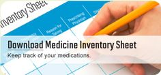 Safeguarding prescription medicine properly is easy once you know what to do, and it's important for the health and safety of your family and others who come into your home. Learn more and download a medicine inventory sheet