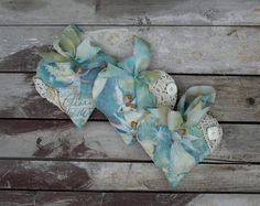 Turquoise Blue Christmas Angels Set of 3 Lavender by paintedquilts, $35.95