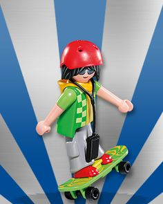 5537 Figures série 7 : le skater