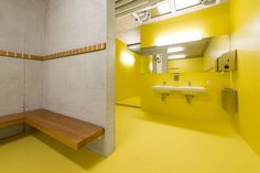 #‎Architecture in #‎Switzerland - #Toilets by Evolution Design