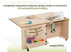 Modular Sewing Furniture by Sylvia Design. www.sylviadesign.com