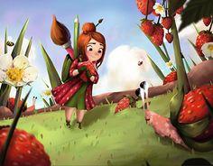 "Check out new work on my @Behance portfolio: ""Vivi"" http://be.net/gallery/57062891/Vivi"