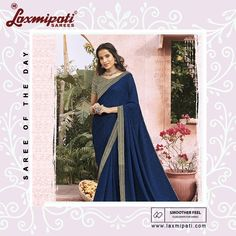 Beautiful Georgette saree By Laxmipati Sarees Laxmipati Sarees, Georgette Sarees, Plain Saree, Saree Shopping, Popular Outfits, Traditional Sarees, Indian Attire, Printed Sarees, Wedding Wear