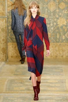 676e0f70b Celebrities who wear, use, or own Tory Burch Fall 2015 RTW Striped  Tie-Front Shirt. Also discover the movies, TV shows, and events associated  with Tory ...