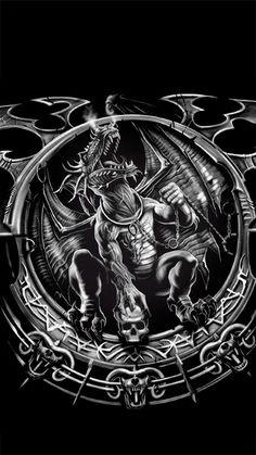 SPIRAL DIRECT DEVIL BEAUTY HOOD //Tattoo////Demon//Love//Goth//Devil//Tee//Women