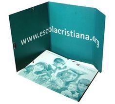 Carpeta Fundació Escola Cristiana de Catalunya, 2005. #design #religion #education