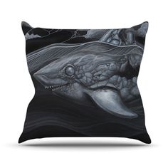 Troubled Joe Throw Pillow