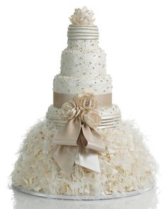 dress wedding cake