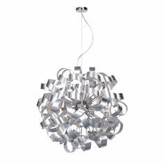 Rawley 12 Ribbon Pendant Light: Rawley 12 ribbon pendant light is a stunning and highly original ceiling light that looks superb in any trendy, stylish setting. Its fresh design makes it a decorative as well as practical light fitting.
