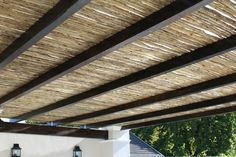Quality reeds and laths River Lodge, Arno, Roman Shades, Blinds, Sweet Home, Backyard, Ceiling, Curtains, Nature