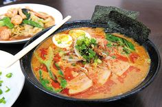 Ten years ago, Atsushi Fukuda moved to Hawaii from Japan to open a food concession in Shirokiya called Usagiya offering traditional and local-style bentos Dragon Table, Moving To Hawaii, Sea Dragon, Chinese Food, Bento, Thai Red Curry, A Food, Restaurants, Japanese