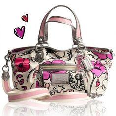 Image detail for -Coach Poppy Spring 2011 Handbags Coach Handbags Outlet, Coach Bags, Coach Outlet, Cute Handbags, Purses And Handbags, Cute Purses, Cute Bags, Leather Purses, Crossbody Bag