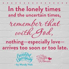Order the all new book from Mandy Hale now at TheSingleWoman.net