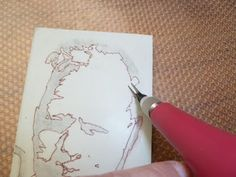 Making rubber stamps from a photograph