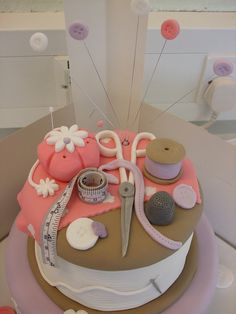 Sewing cake, via Flickr.