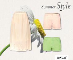 SKIRTS or SHORTS? Qual è la tua scelta in questi giorni di Sole e Caldo? #ekle #SummerStyle #StylingTips