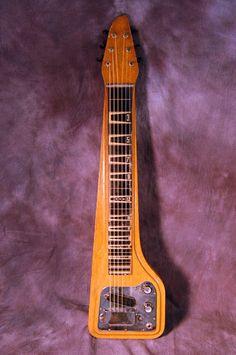 Vintage RARE 1963 Epiphone Korina V Headstock Lapsteel Electric Guitar Slide WOW | eBay