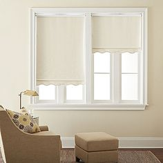 jcp | JCPenney Home™ Saratoga Cut-to-Width Fringed Blackout Roller Shade - FREE SWATCH