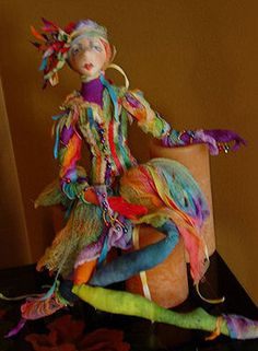 Cloth Doll Patterns by Jacquie Lecuyer
