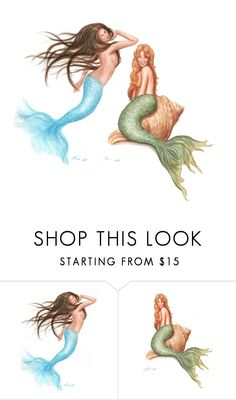 """""""Mermaids"""" by emmymcenre ❤ liked on Polyvore featuring beauty"""