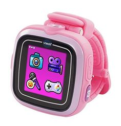VTech Kidizoom Smartwatch, Pink. Give your child's education a head start. Teaches kids in a funny way. Your child's minds will be sharpened enough to develop their problem solving capacity through raising development of mental stamina and boosting their self confidence. High quality product and satisfaction guaranteed. This toys will challenge your child's intellect by stimulating amazing creativity.