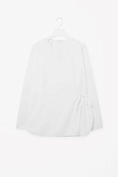 Wrap-over shirt - COS