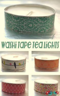 15 DIY Washi Tape Wedding Ideas