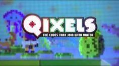 Qixel inspiration.  My boys LOVE these Qixel catoons.  Qixelsworld - YouTube #qixels #beados #boyscraft #kidscraft #newkidsproducts