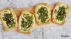 Asparagus and Pea Tarts